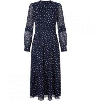 ホッブス Hobbs レディース パーティードレス ワンピース・ドレス Piper Dress Midnight Ivory