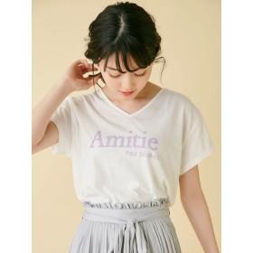 dazzlin(ダズリン)/AmiteVネックBIGTシャツ