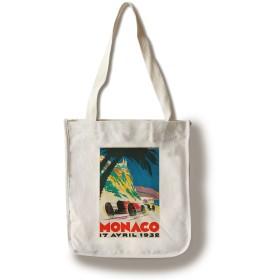 モナコヴィンテージポスター(アーティスト: Falcucci )モナコC。1932 Canvas Tote Bag LANT-64185-TT