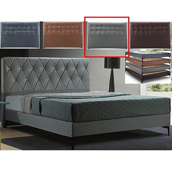 皮床 布床架 CV-168-3A 艾美5尺淺灰色雙人床(不含床墊及床上用品)【大眾家居舘】