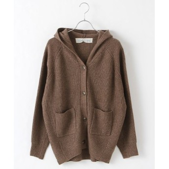 MARcourt/マーコート KNITTED PARKA brown FREE