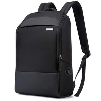 ノートパソコン用のバッグ 多機能オックスフォードの布のショルダーバッグを充電ビジネスコンピュータのバックパックの男性のUSB