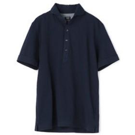 【メンズビギ:トップス】ポロシャツ/ニットサッカー
