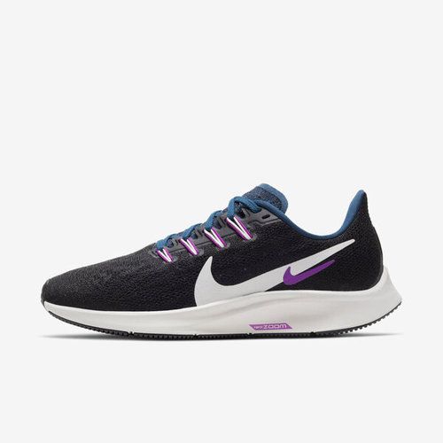 Nike W Air Zoom Pegasus 36 [AQ2210-012] 女鞋 慢跑 運動 休閒 透氣 緩衝 黑白