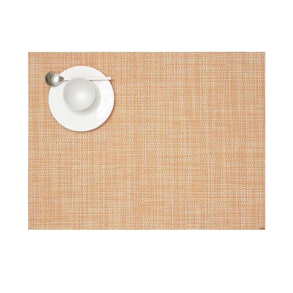 【Chilewich】細籃網編 Mini Basket Weave 36×48M餐墊 (蜜瓜橘)