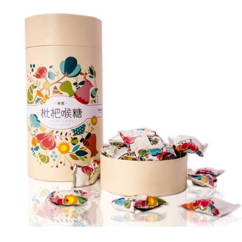 【蜂王世家】蜂蜜枇杷喉糖120g/潤喉不卡卡/團購熱銷好評/精美伴手禮/備註可附提袋