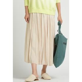 LIPSTAR 【2020SS新作カラー】シャイニープリーツスカート その他 スカート,オフホワイト