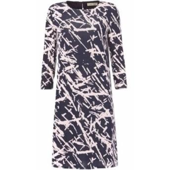 フェイズ エイト Phase Eight レディース ワンピース ワンピース・ドレス Bora Print Dress Navy
