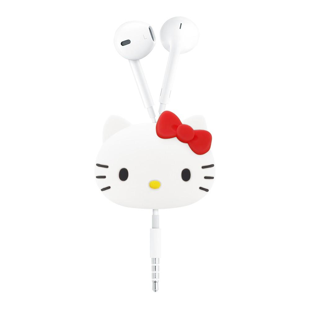 GARMMA Hello Kitty 立體公仔捲線器 收納 捲線器 三麗鷗