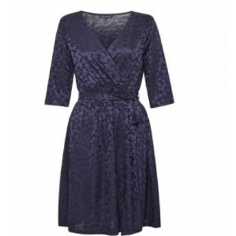 フレンチコネクション French Connection レディース ワンピース ラップドレス ワンピース・ドレス Tallis Jacquard Jersey Wrap Dress U