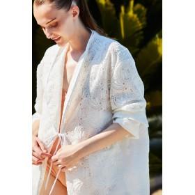 Cabana(カバナ)/刺繍レースジャケット