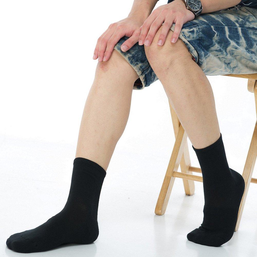 【KEROPPA】可諾帕寬口萊卡運動襪x3雙C98002黑