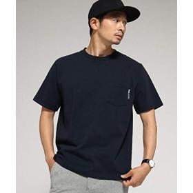 BASECONTROL(ベース コントロール) Tシャツ メンズ クルーネック ポケット 半袖Tシャツ 22311501 02(M) ネイビー(093)