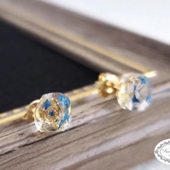 【Tiny鉱石シリーズ】スプレーフラワー Blue ver.