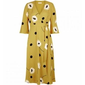 ホッブス Hobbs レディース ワンピース ワンピース・ドレス Jeanne Dress Yellow