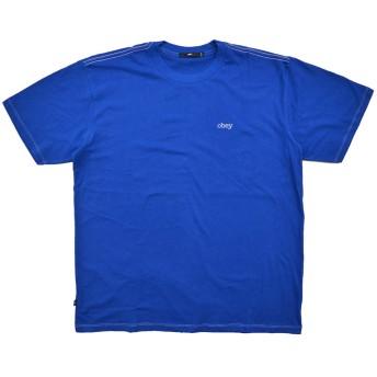 [OBEY(オベイ)] PRESSURE BOX TEE Tシャツ [並行輸入品] Royal Blue Mサイズ