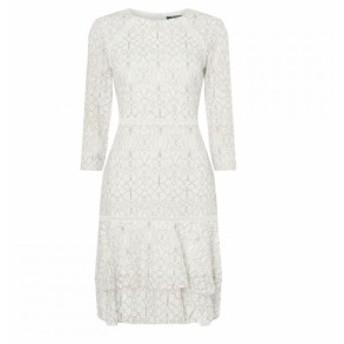 ラルフ ローレン Lauren Ralph Lauren Occasion レディース ワンピース ワンピース・ドレス LRL Halima LSD Dress Lau White/Black