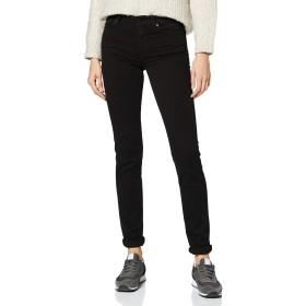 7 For All Mankind Women's Rozie Slim Jeans、Black(Black BF)、W30 / L33(サイズ:30/33)