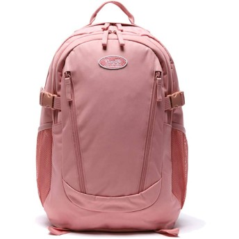 DAYLIFE デーライフ 2020年 New ダブル ライン バックパック Double Line Backpack 通学用 女の子 可愛い リュックサック (ピンク) [並行輸入品]