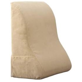 腰枕 クッション 妊娠中の女性の腰 メモリーコットンライニング 大きな三角枕 高反発マット 背もたれ 読書 クッション(30x55x60cm)
