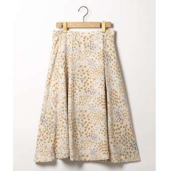 SCAPA / スキャパ シャンパンドットスカート