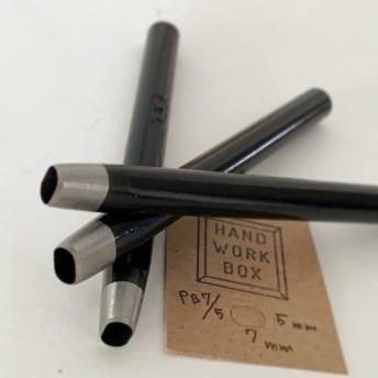 PB7.5 美錠抜き楕円形ポンチ幅約7×5mmレザークラフトプロ道具