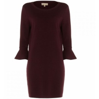 フェイズ エイト Phase Eight レディース ワンピース ワンピース・ドレス Bertie Bell Sleeve Knit Dress Red