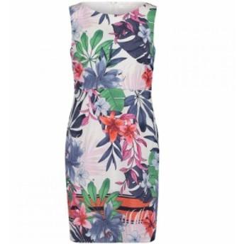ベティー バークレイ Betty Barclay レディース ワンピース シフトドレス ワンピース・ドレス Floral Print Shift Dress White/Red