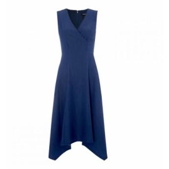 ディーケーエヌワイ DKNY Occasion レディース ワンピース ワンピース・ドレス Sweetheart Neckline Dress Light Wash Dnm