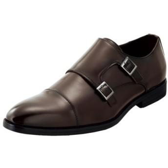 UN SNOBBISH(アンスノビッシュ)ダブルモンクストラップビジネスシューズ ビジネスシューズ, Shoes, 鞋