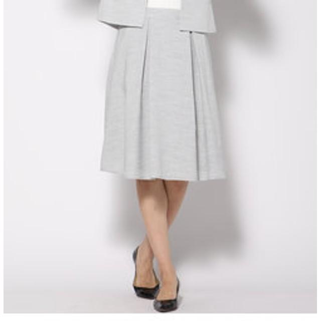 【J Lounge:スカート】リネンオックスタックスカート