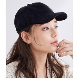 【ROPE' PICNIC:帽子】ポリエステルスエードキャップ