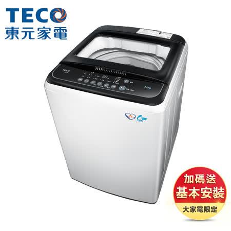 【TECO 東元】7公斤 FUZZY人工智慧定頻洗衣機 (W0702FB)