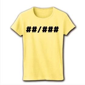 マーク2 # レディースTシャツ(ライトイエロー)レディース