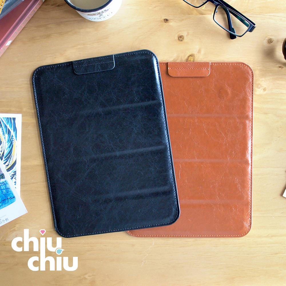 【CHIUCHIU】ASUS Chromebook Tablet CT100 (9.7吋)復古質感瘋馬紋可折疊式保護皮套