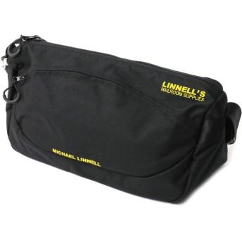 (マイケルリンネル) MICHAEL LINNELL ショルダーバッグ ボディバッグ メンズ レディース F Black/Yellow MLCD-600