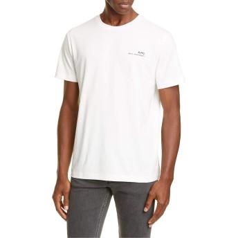 [アーペーセー] メンズ Tシャツ A.P.C. Item Logo T-Shirt [並行輸入品]