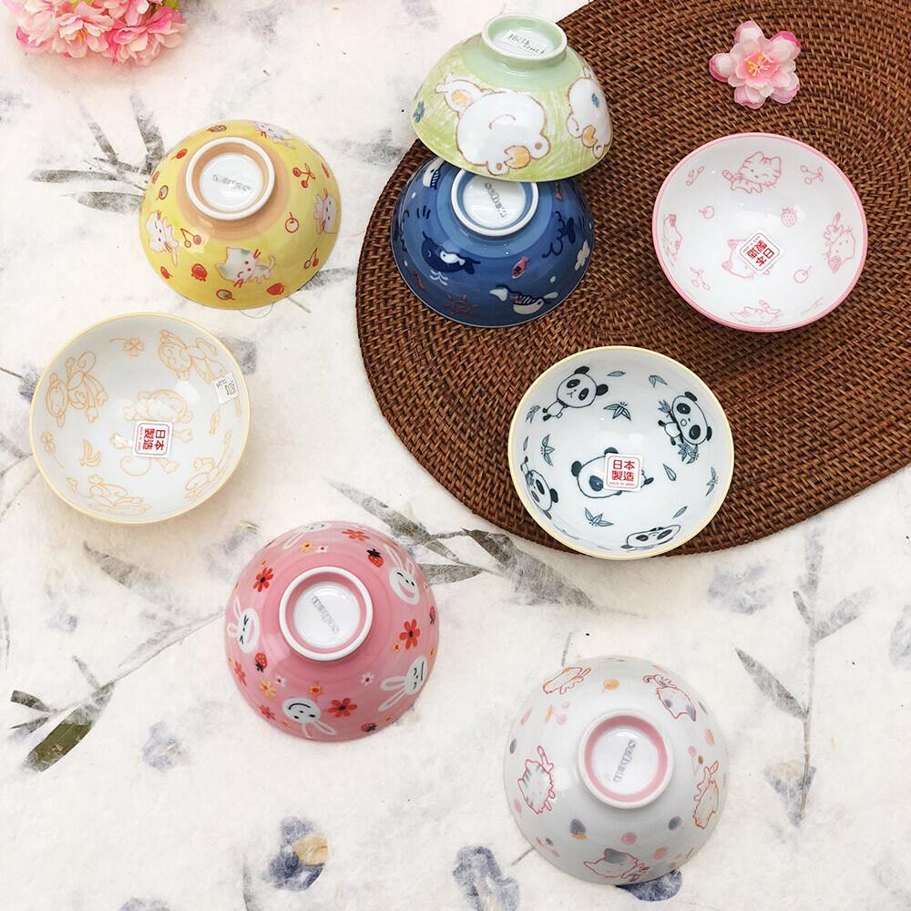 日本製小巧兒童飯碗(多款多色可挑)