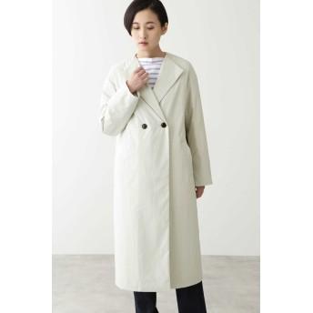 HUMAN WOMAN ◆撥水スパンライクタイプライターコート その他 コート,Lグレー