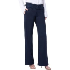 [リバプール] レディース カジュアルパンツ Liverpool Taylor Belted High Waist Pants [並行輸入品]