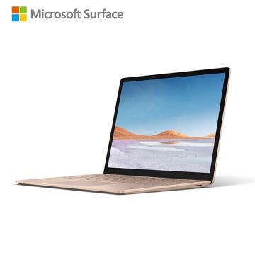Microsoft微軟 Surface Laptop3 砂岩金(i5-1035G7/8GB/256GB)(V4C-00080)