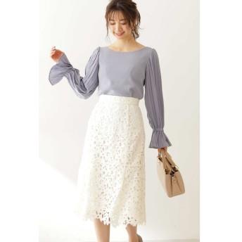 【プロポーションボディドレッシング/PROPORTION BODY DRESSING】 ◆ケミカルレースマーメイドスカート
