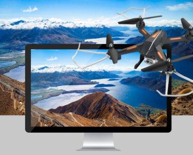 A656【靓仔3c】懸停定高 雙電版[專業]四軸飛行器航拍高清無人機玩具男孩遙控飛機直升機充電兒童