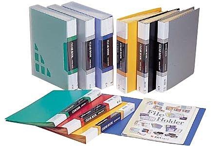 連勤 PP 資料簿 (附盒) 80入/本 6本/箱 LC-3080