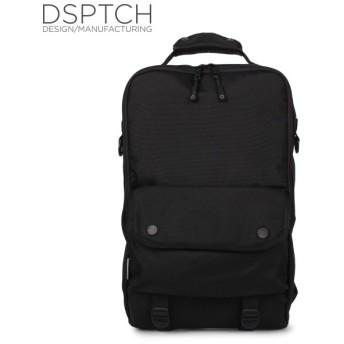 ディスパッチ DSPTCH バッグ リュック バックパック メンズ レディース 18L BACKPACK ブラック 黒 PCK-BP-BLK [1/17 新入荷]