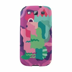 【韓國正品Makase】※Mixed Mutents1※ SAMSUNG Galaxy S3 i9300 質感手機保護殼 附贈胸針及簡易立架