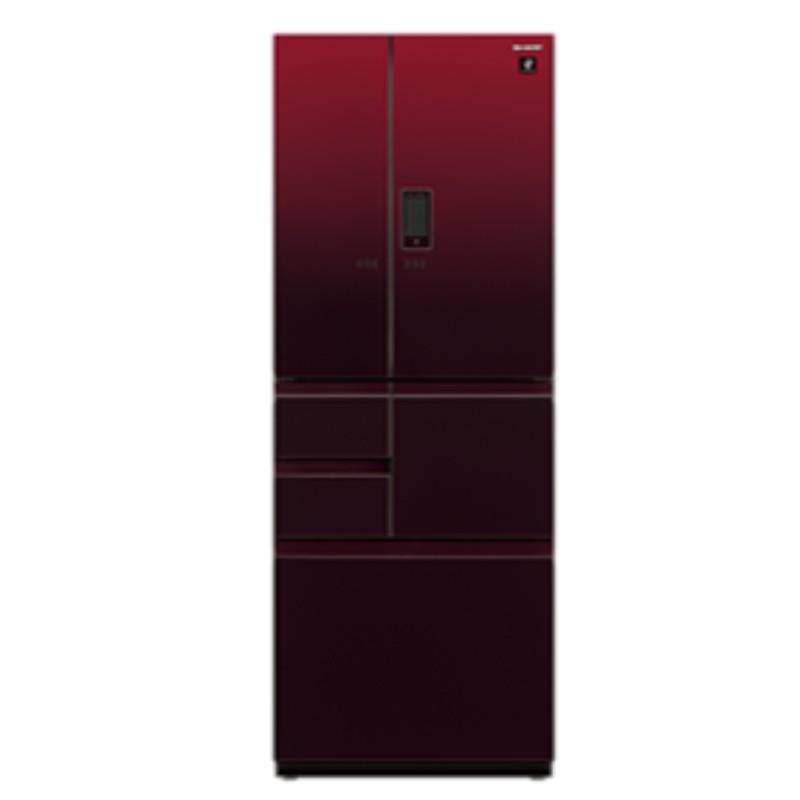 SHARP 夏普 502公升 變頻 六門對開冰箱 SJ-GX50ET-R(星鑽紅) / SJ-GX50ET-W(星鑽白)