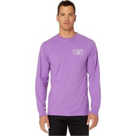 [VANS(バンズ)] メンズTシャツ Full Patch Back Long Sleeve T-Shirt Dewberry/White XL [並行輸入品]