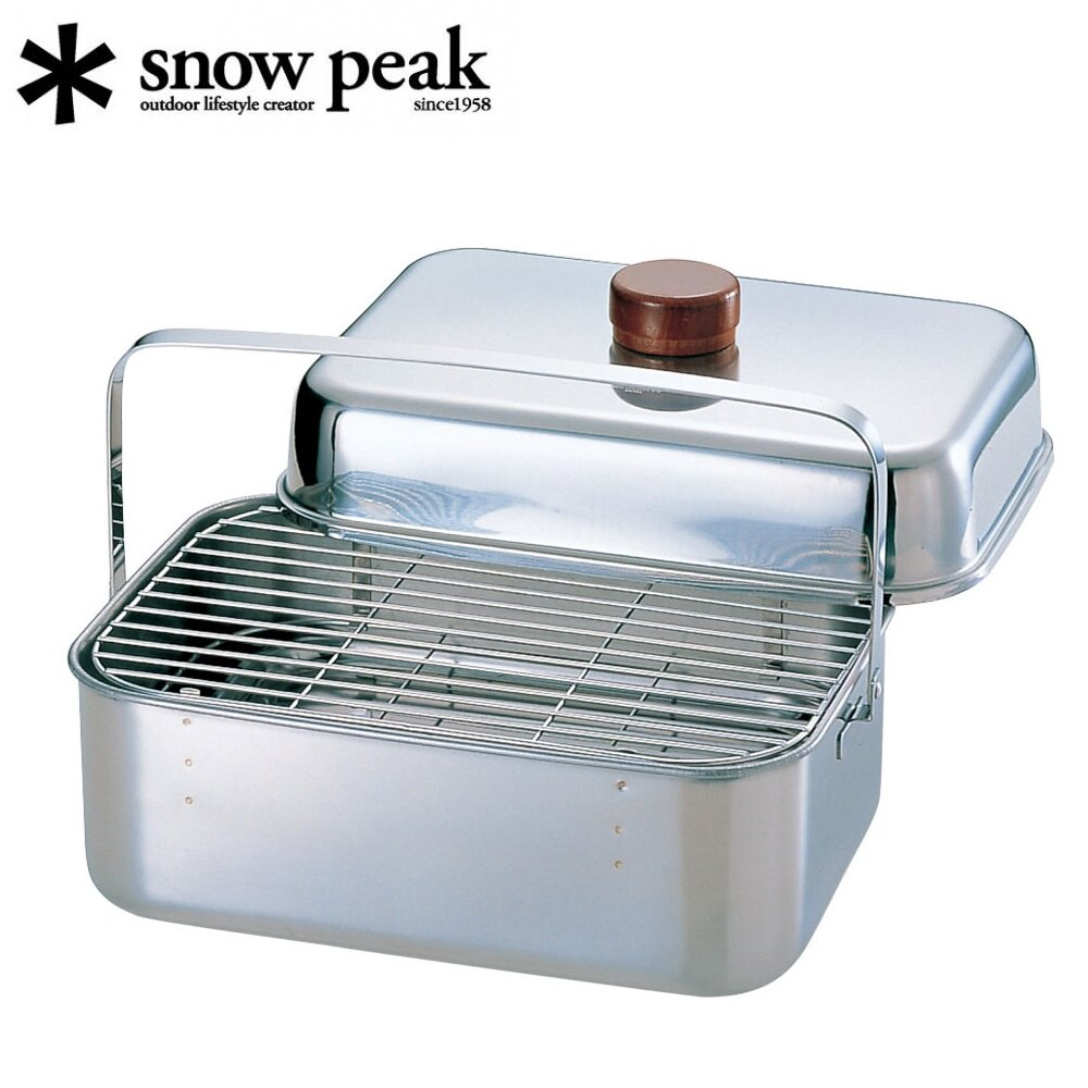 [ Snow Peak ]  不鏽鋼煙燻盒 / Compact Smoker 烤箱 / CS-092
