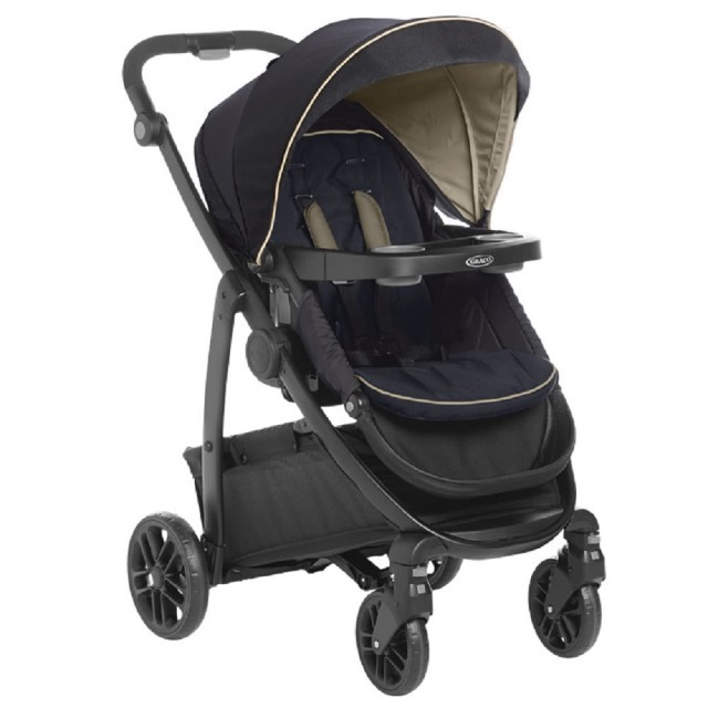 GRACO-多功能型雙向嬰幼兒手推車 勁旅系列 MODES LX -爵士紳藍
